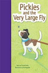 Rigby PM Stars Bridge Books  Individual Student Edition Purple Pickles and the Very Large Fly-9781419055140