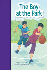 Rigby PM Stars Bridge Books  Individual Student Edition Purple The Boy at the Park-9781419055171