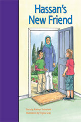 Rigby PM Stars Bridge Books  Individual Student Edition Purple Hassan's New Friend-9781419055188