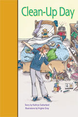 Rigby PM Stars Bridge Books  Individual Student Edition Gold Clean-Up Day-9781419055201