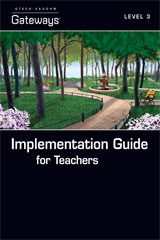Steck Vaughn Gateways  Implementation Guide for Teachers Level 3-9781419056444
