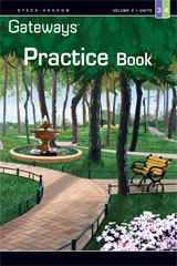 Steck Vaughn Gateways  Student Practice Book Level 3 Units 3 & 4-9781419056628