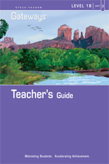 Steck Vaughn Gateways  Teacher's Guide Level 1B Book 3-9781419056772