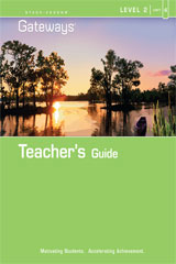 Steck Vaughn Gateways  Teacher's Guide Level 2 Book 4-9781419056826