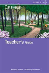 Steck Vaughn Gateways  Teacher's Guide Level 3 Book 3-9781419056857
