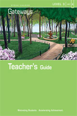 Steck Vaughn Gateways  Teacher's Guide Level 3 Book 4-9781419056864