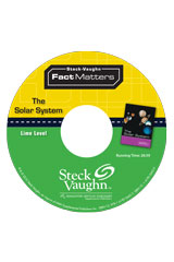 Steck-Vaughn On Ramp Approach Fact Matters  Leveled Reader 6pk Lime (Space) The Solar System-9781419059780