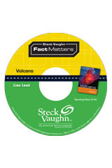 Steck-Vaughn On Ramp Approach Fact Matters  Leveled Reader 6pk Lime (Natural Disasters) Volcano-9781419059858