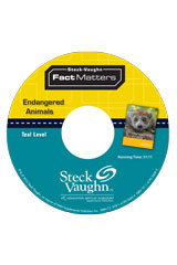 Steck-Vaughn On Ramp Approach Fact Matters  Leveled Reader 6pk Teal (Environmental Issues) Endangered Animals-9781419059902