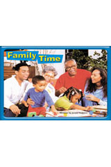 Steck-Vaughn Pair-It Premier  Leveled Reader 6pk Family TIme-9781419074967