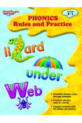 Phonics: Rules and Practice  Reproducible-9781419098253