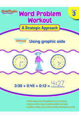 Word Problem Workout: A Strategic Approach  Reproducible Grade 3-9781419098277