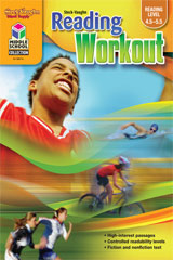 Steck-Vaughn Reading Workout  Reproducible Book 4 (Reading Level 4.5-5.5)-9781419099076