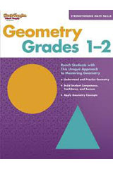 Strengthening Math Skills: Geometry  Reproducible Grades 1-2-9781419099144
