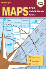 Maps: Read, Understand, Apply Reproducible Grades 3-4