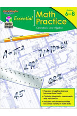 Essential Math Practice  Reproducible Operations and Algebra-9781419099748