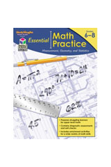 Essential Math Practice  Reproducible Measurement, Geometry, and Statistics-9781419099755