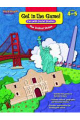 Get in the Game! Fun with Social Studies  Reproducible The United States-9781419099762