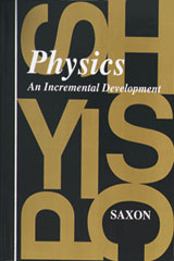 Saxon Physics  Solutions Manual First Edition-9781565770072