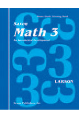 Saxon Math 3 Homeschool  Complete Kit 1st Edition-9781565770201