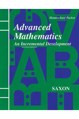 Saxon Advanced Math  Solutions Manual Second Edition-9781565770423