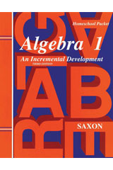 Saxon Algebra 1  Solutions Manual Third Edition-9781565771376