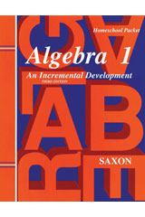 Saxon Algebra 1  Tests and Answer Key Third Edition-9781565771383