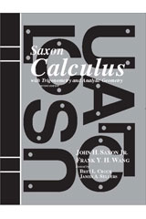 Saxon Calculus Solution Manual Second Edition