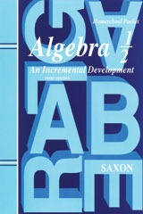 Saxon Algebra 1/2  Kit 3rd Edition-9781565774995