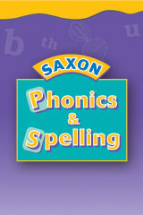 Saxon Phonics & Spelling K Workbook Materials