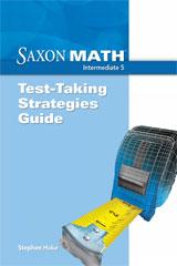 Saxon Math Intermediate 5  Test Taking Strategies Guide-9781600324949