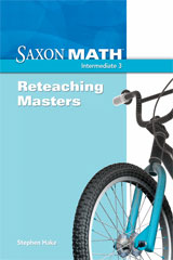 Saxon Math Intermediate 3  Reteaching Masters-9781600325229