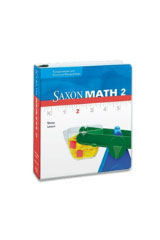 Saxon Math 2  Overhead Transparency & Manipulative Binder-9781600327490