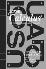 Saxon Calculus  Homeschool Kit w/Solutions Manual Second Edition-9781600329746