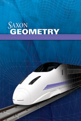 Saxon Homeschool Geometry  Kit with Solutions Manual 1st Edition-9781600329760