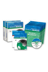 Saxon Math Course 3  Adaptation Special Ed Resource-9781602773165