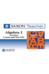 Saxon Algebra 1  Homeschool Teacher CD-ROM Package Third Edition-9781602773653