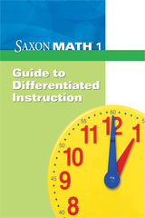 Saxon Math 1  Differentiated Instruction-9781602774483