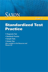 Saxon Geometry  Standardized Test Practice-9781602775626