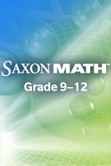 Saxon Math  Manipulative Kit-9781602776135