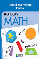 BIG IDEAS MATH Record and Practice Journal Blue