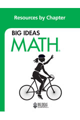 BIG IDEAS MATH Resources by Chapter Blackline Masters Green