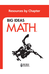 BIG IDEAS MATH Resources by Chapter Blackline Masters Red