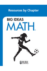 BIG IDEAS MATH Resources by Chapter Blackline Masters Blue
