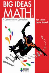 BIG IDEAS MATH Student Edition and Resources CD-ROM Red