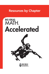 BIG IDEAS MATH Accelerated Resource by Chapter Red