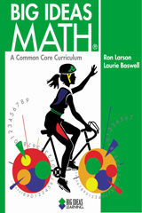 BIG IDEAS MATH Online Dynamic Student Edition, 1 Year Green