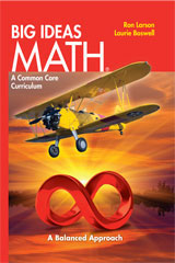 BIG IDEAS MATH Online Dynamic Student Edition 6-year Red