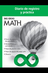 BIG IDEAS MATH Spanish Record & Practice Journal Green/Course 1