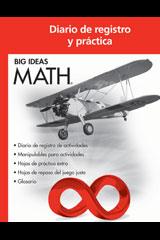 BIG IDEAS MATH Spanish Record & Practice Journal Red/Course 2